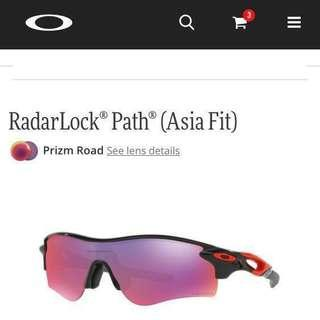 Authentic - Oakley RadarLock® Path® (Asia Fit) OO9206 Sport Sunglasses