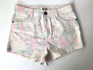 🚚 BN High Waist Floral Shorts