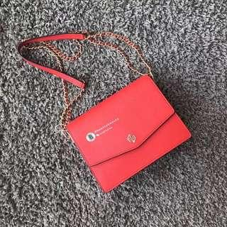 ON SALES🎉Tory Burch Robinson Convertible Shoulder Bag - red