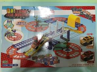 模型 玩具車 組合 Go Bridge rail coaster