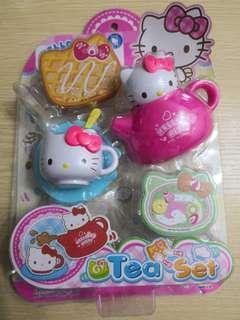 Hello kitty tea set toy