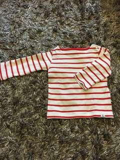 Baby uniqlo long sleeve knitted top