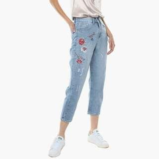 Young Hungry Free Pick Me Boyfriend Jeans