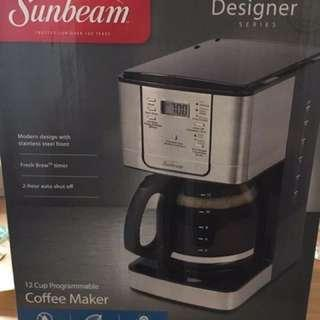 BNIB Sunbeam Designer Series Coffee Maker