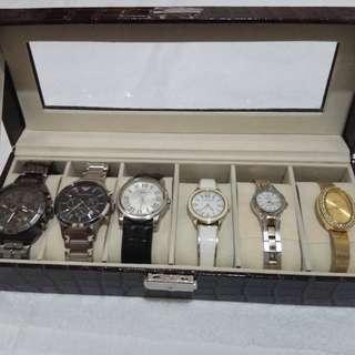 6 slots watchbox