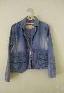Jacket Jeans Wanita Cardinal (Jaket Denim)