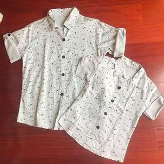 Terno Polo for Father and Son