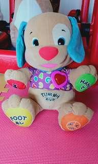 Fisher price learning puppy