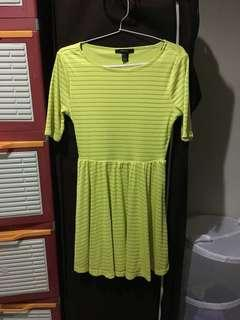SALE Forever 21 Lime Dress