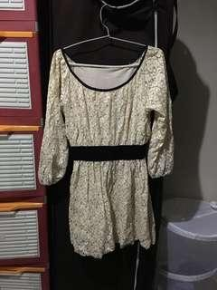SALE M-L Victorian Cocktail Dress