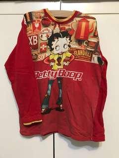 🚚 Betty貝蒂·古著·厚棉長袖