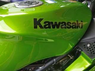 Coverset KRR ZX150 Lime Green