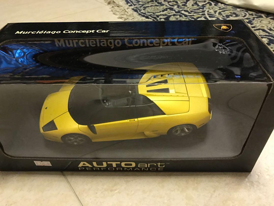 1 18 Lamborghini Murcielago Concept Car Ultra Rare Toys Games