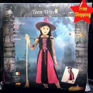 Kids Teen Witch Costume