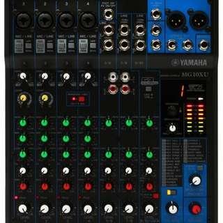 🚚 Yamaha MG10XU Mixer