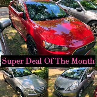 Super deal Car Rental Low Rental Rates