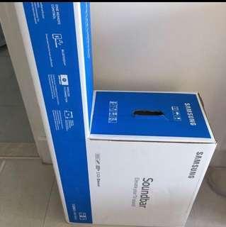 SAMSUNG三星】藍牙Soundbar+無線重低音組(HW-M360) 原價:HK$ 1,299 總輸出200W 環繞音效強化 6.5吋無線重低音 5種聲音模式, 滿足不同觀賞需求 支援藍牙連結 光纖/音訊/USB輸入  單一遙控器, 透過三星智慧遙控器可操控