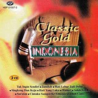CLASSIC GOLD INDONESIA 2CD Dian Piesesha Jamal Mirdad Hetty Koes Endang
