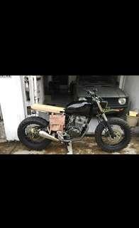 Custom Bike STREET TRACKER