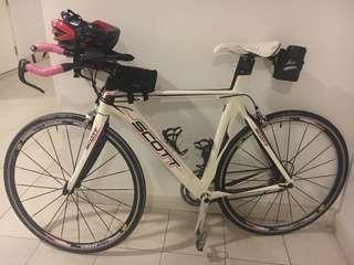 Scott Contessa Plasma Triathlon Bike