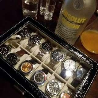 12 slots watch organizer