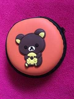 Bear cord pouch
