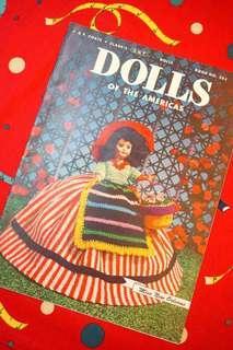 """古董1952年""""Dolls of the Americas""""娃衣勾織目錄"""
