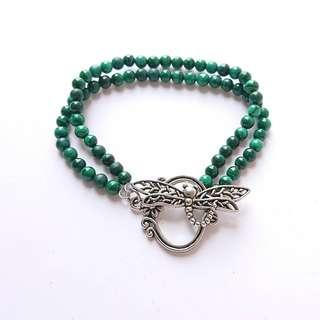 巴西孔雀石手鏈 Brazil Malachite bracelet $160