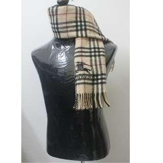 Authentic BURBERRY London Scarf @ Muffler scarf.
