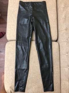 Topshop Leather Leggings
