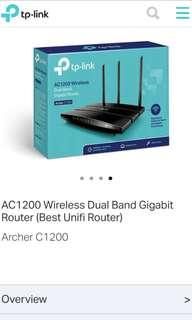 Wifi Router TP link AC 1200 Dual Band Gigabyte Router