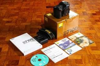 Nikon D7100 body only for sale