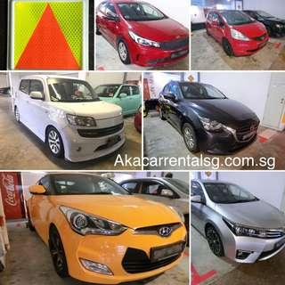 5% Cash back when you rent from AKA Car Rental!  P plate welcome No deposit!