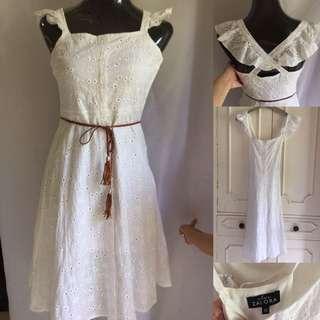 Zalora White Sun Dress