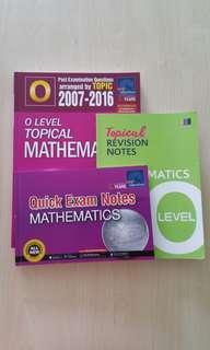 'O' Level Topical Mathematics TYS