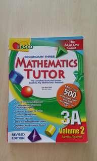 Mathematics Tutor 3A Vol 2