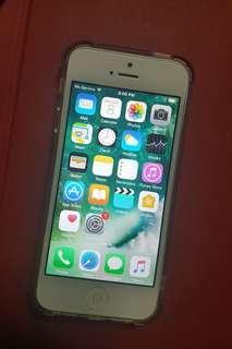 iPhone 5 16gb silver