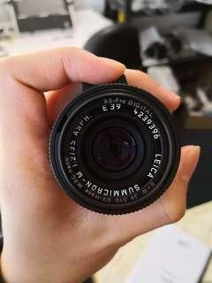 Leica M35/2 Asph black chrome (limited edition)