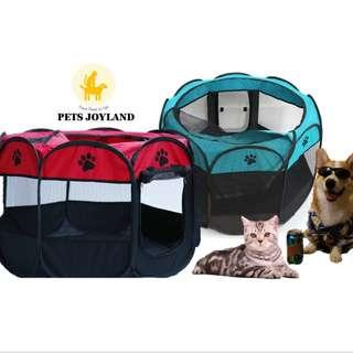 Outdoor/Indoor Cooling Playpen Tent Kennel for Dogs and Cats (S size)