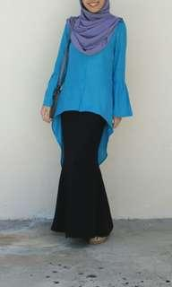 (Inc Postage) Fishtail Blouse