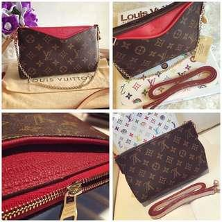 Louis Vuitton Monogram Pallas Clutch/Handbag