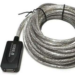Kabel 10 Meters USB