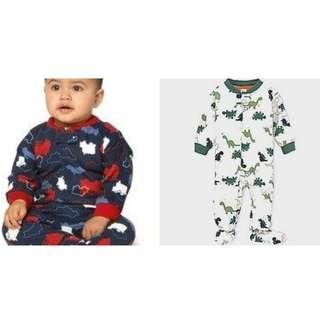 Carter's winter baby sleep suit baby romper (polyester) 18mth - 4yrs old