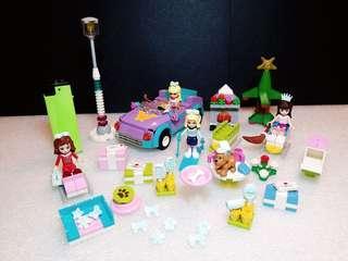 正版Lego:Barbie系列,全圖$90,有意pm