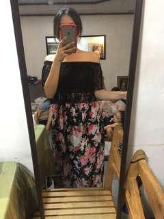 Lacey Floral Maxi Dress