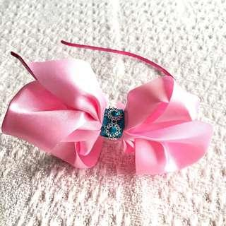 NEW! Girls' Light Pink Hairband (3-9 years old)