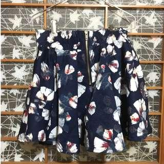 花卉氣質短裙