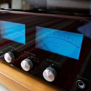Vintage McIntosh MC2505 (Power Amp) + MX114 (Integrated Tuner Preamplifier)