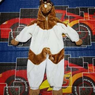 Horse jumpsuit costume