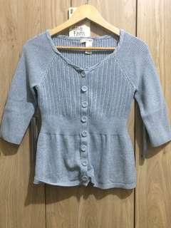 Authentic DKNY Knitted Blouse